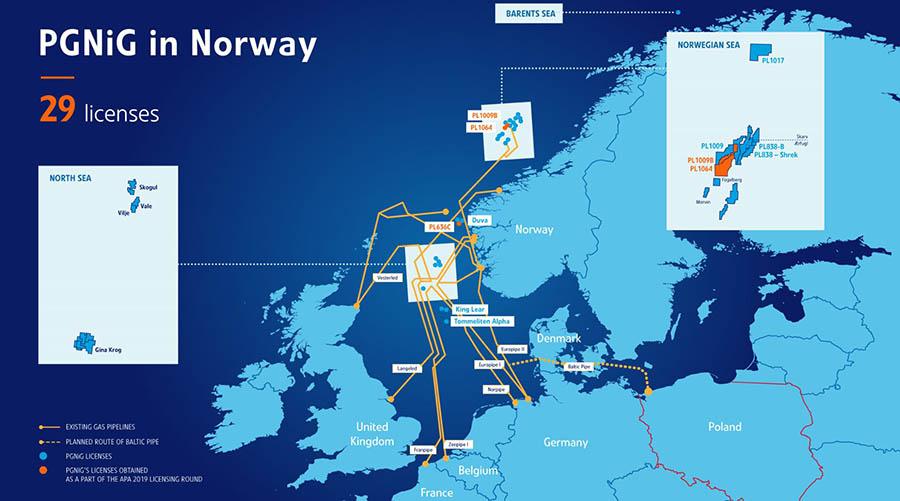 Luz verde a la producción del yacimiento noruego Skogul