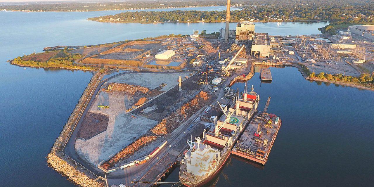 Demolición de una central eléctrica de carbón. El nacimiento de un centro internacional de eólica marina