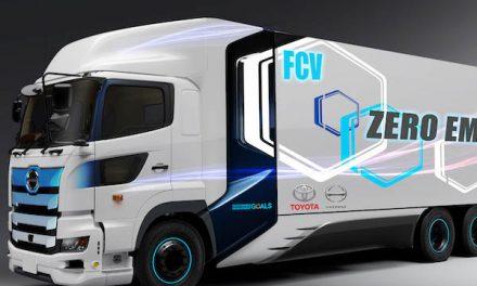 Así será el nuevo camión a hidrógeno de Toyota
