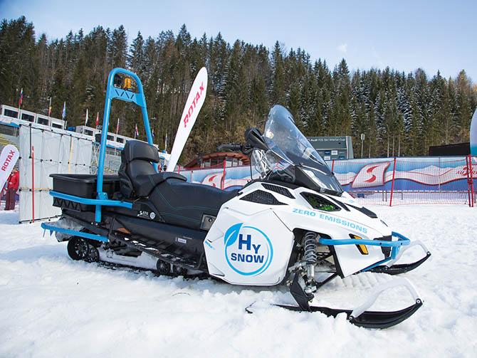 Motos de nieve de hidrógeno
