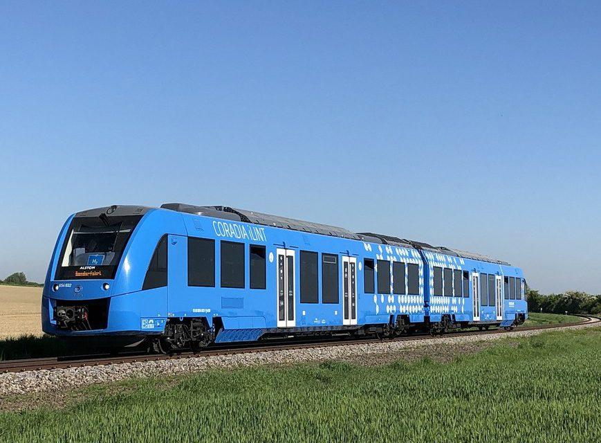 Primer tren de pasajeros de hidrógeno renovable del mundo