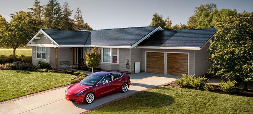 tejado solar Tesla 10 sistemas solares para casa